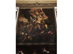 《Resurrection of Jesus》by Tintoretto, Scuola Grande di San Rocco,photo by JJ